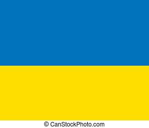 2D flag of Ukraine