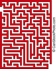 2D maze - Find the way out from this maze