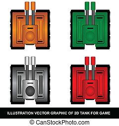 2D Tank - 2d Tank for game developer