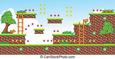 2D Tileset Platform Game 18