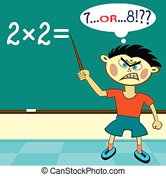 2x2 - The pupil must solve a real grand challenge