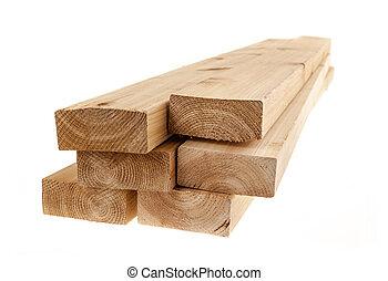 2x4, bois, isolé, conseils
