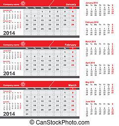 3月, -, 3, 1 月, 月, カレンダー, 2 月