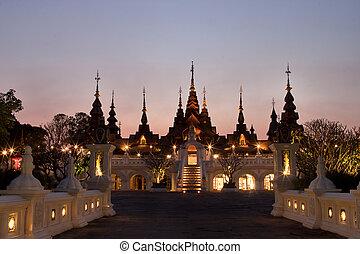 :, 3月, 8, mai, -, dhevi, chiangmai, リゾート, 東洋人, thailand., 贅沢, タイ, マンダリン, 2014, dhara, chaiang