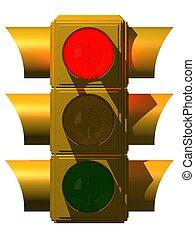 3차원, 교통 신호