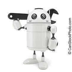 3, állítható fogó, robot