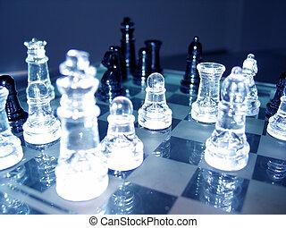 3, échecs