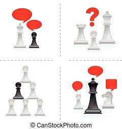 3, -, échecs, métaphores