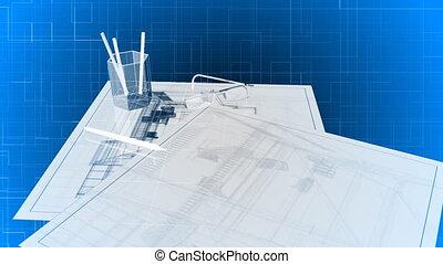 3, épület, alaprajzok