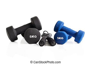 3, そして, 5, kg, ダンベル, ∥で∥, 省略 ロープ