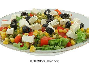 #3, ギリシャのサラダ