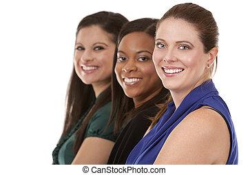 3, ビジネスの女性たち