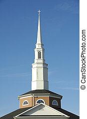 3, 教会steeple