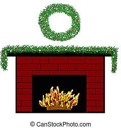 3, 暖炉