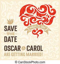 3, 結婚式の招待