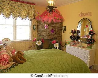 3, 6, -, lusso, camera letto