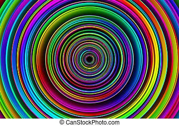 3, abstrakt, baggrund