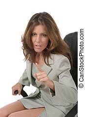 3, affari donna, indicare