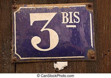 3, antal