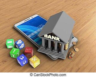 3, bank