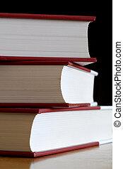 3 books - Pile of books.