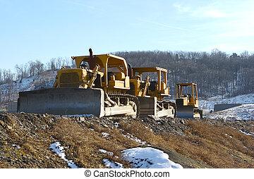 3 Bulldozers