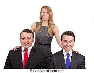 3, businesspeople