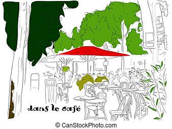 3, café, champs-elysees-elysees