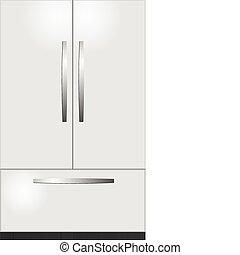 3 camera domestic refrigerator
