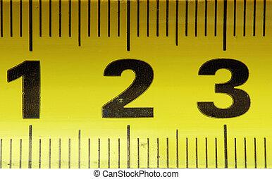 3, centymetry