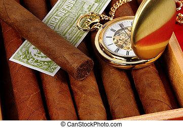 3, cigares
