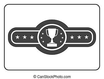 3, cinto, campeão, ícone