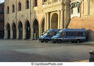 3, coronavirus, después, policía, fase, distancing., ...