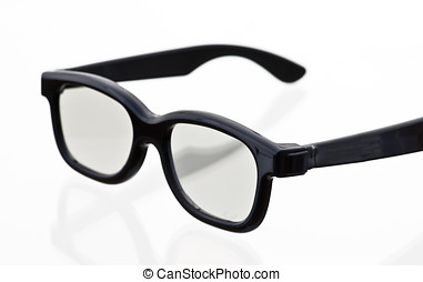 3-D glasses, Real-D system. One of the three technologies...