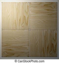 3, d, madera contrachapada