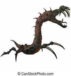 Fantasy Monster - 3 D Render of an Fantasy Monster