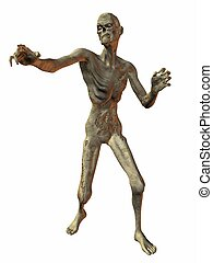 3 D Render of an Zombie