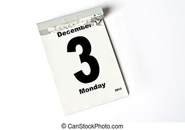 3. December 2012
