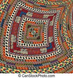 3, decorativo, tribal, desenho