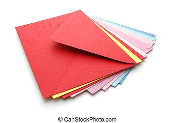3, enveloppes