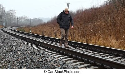 3, episode, ferroviaire, homme