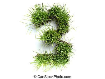3, fait, -, nombres, herbe