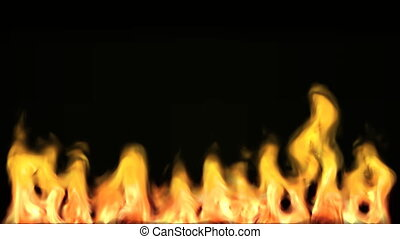 High Definition 3d Animated Fire 5