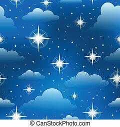 3, fond, seamless, étoiles