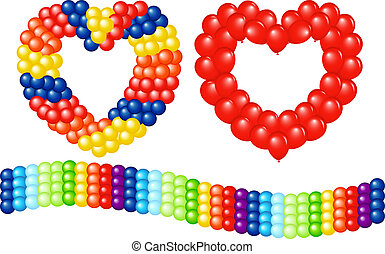 Garlands Of Balloons
