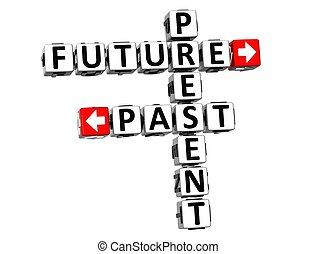 3, gave, fremtid, fortid, krydsord