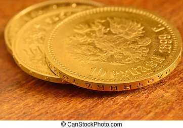 3 Gold coins