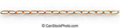 3, guld kæde