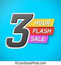 3 Hour Flash Sale banner