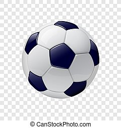 3, ikon, fotboll bal